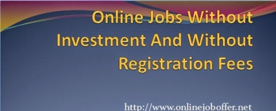 Recommended Online Jobs Without Investment From Home